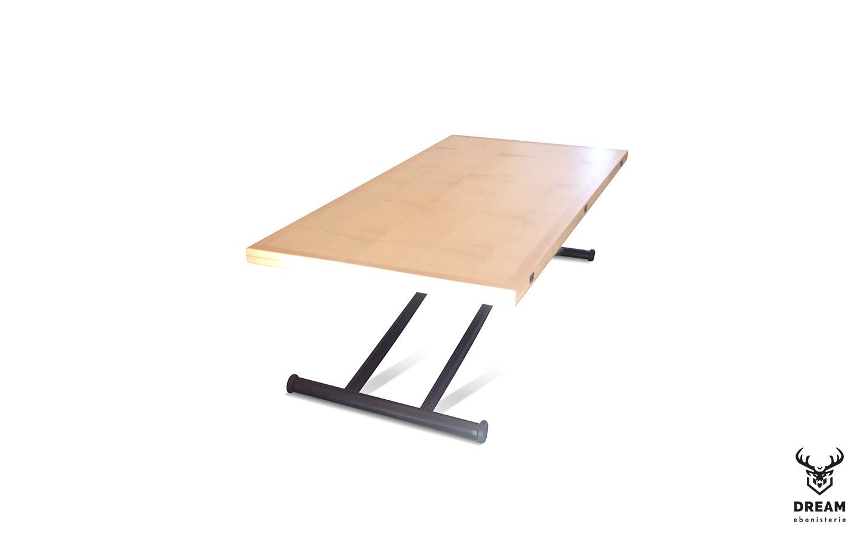 table-relevable-erable-noire