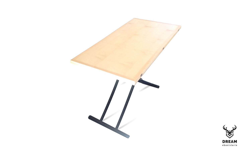 table-relevable-erable-noire-blanc